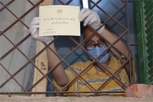 الشهيدة عطيات محمد عربود الممرضة بمستشفى صدر دمنهور