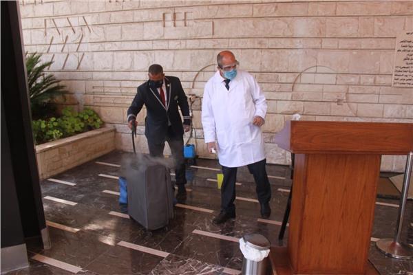 لجان مشتركة للتفتيش على الفنادق السياحية لضمان السلامة الصحية