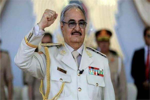 ا القائد العام للجيش الوطني الليبي