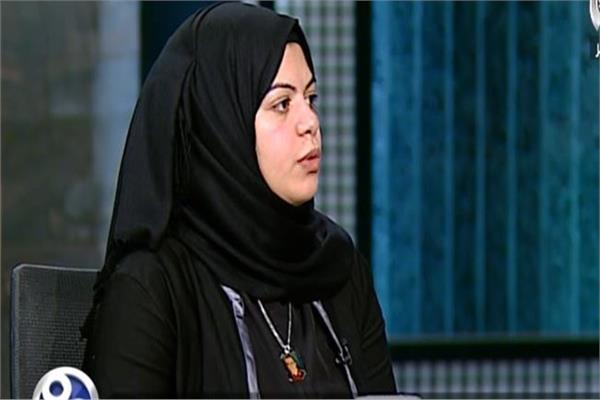 المهندسة ندى حسن زوجة الشهيد شبراوى
