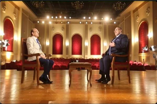 حسن راتب ومحمد صبحي ضيفا برنامج شخصيات في حياتي علي قناة المحور