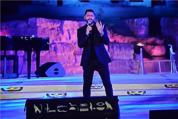 تامر حسني في  حفل عيد الفطر