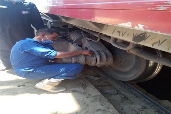 صيانة القطارات