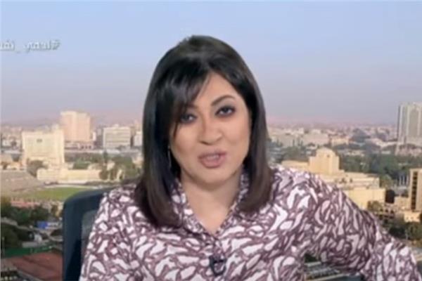 الإعلامية عزة مصطفى