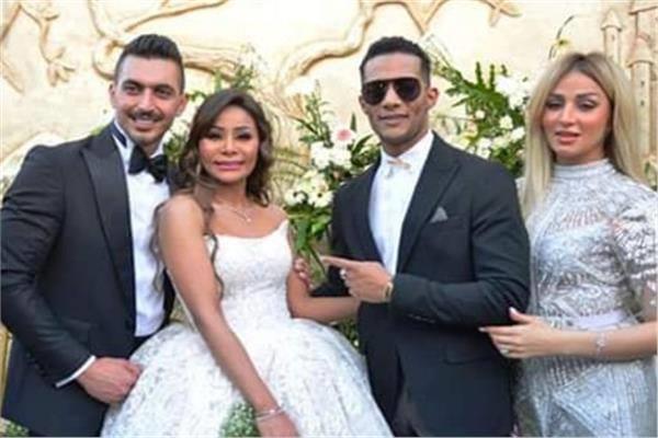 جانب من حفل زفاف شقيقة النجم محمد رمضان