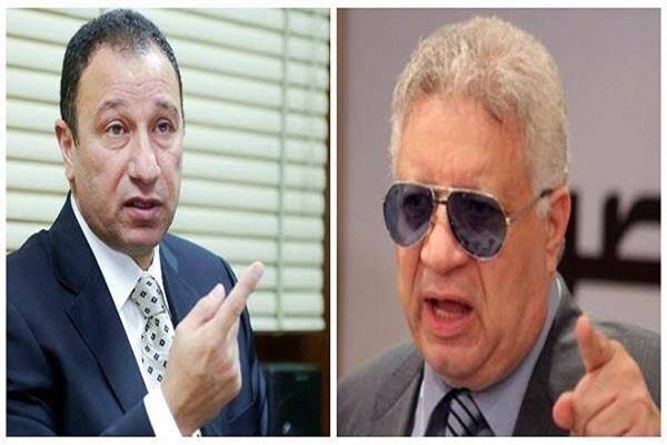 المستشار مرتضى منصور والخطيب