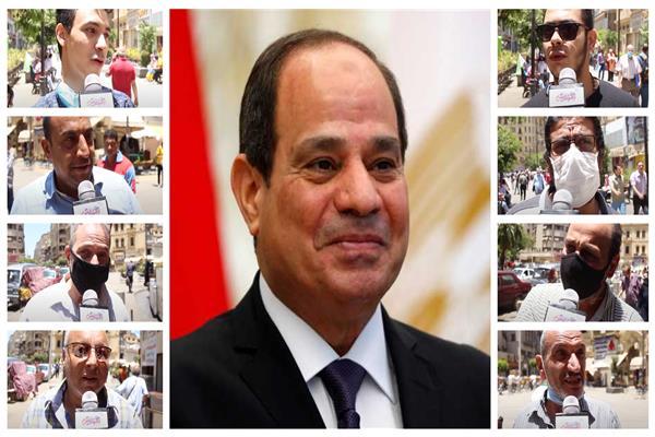 الشعب للرئيس السيسي: «شكرا لابن مصر البار»