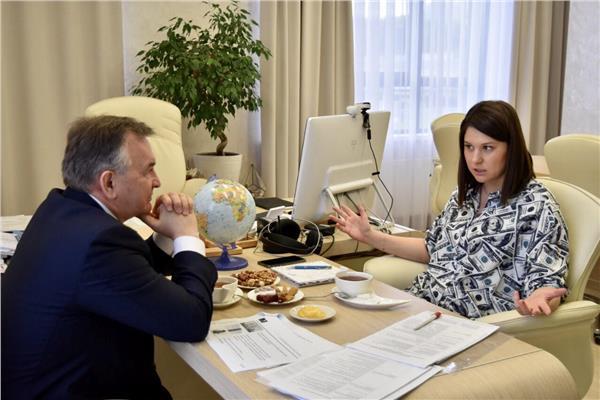 رئيسة وكالة تتارستان لتنمية الاستثمار، تاليا مينولينا