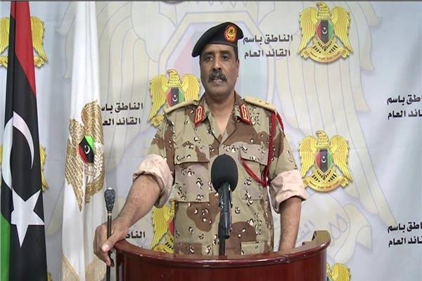 المتحدث الرسمي باسم الجيش الليبي