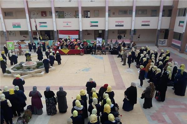 تجهيز استراحات ولجان الثانوية العامة في شمال سيناء