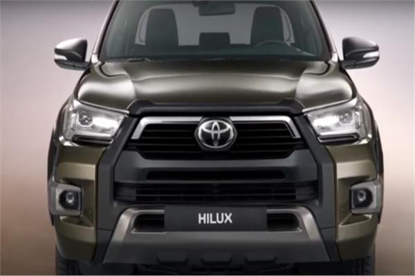 النموذج الجديد Hilux أشهر سيارات البيك آب في العالم