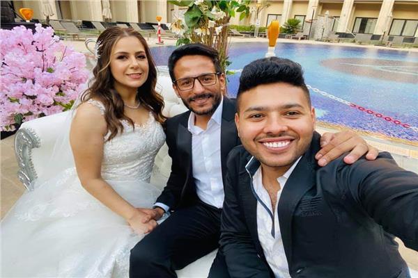 الشاعر أحمد المالكي يحتفل بزفافه على ماهيتاب سامي