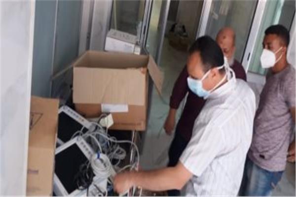 تفقد  الدكتور هاني جميعه وكيل وزارة الصحة بسوهاج