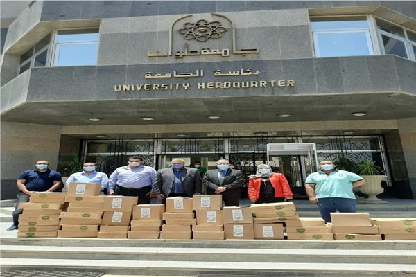 إطلاق مبادرة جامعة حلوان «الجامعة معاك» الـ12 لدعم العمالة اليومية