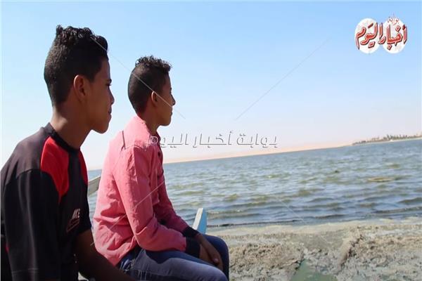 قارون- السودان رايح جاي.. صغار في رحلة بحث عن سمك الجنوب