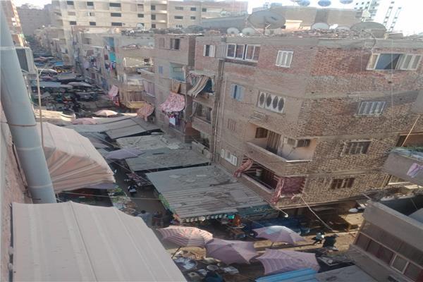 سوق الخضار الواقع في شارع قصر فهمي