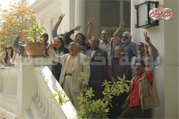 اعتصام المثقفين خلال حكم الإخوان