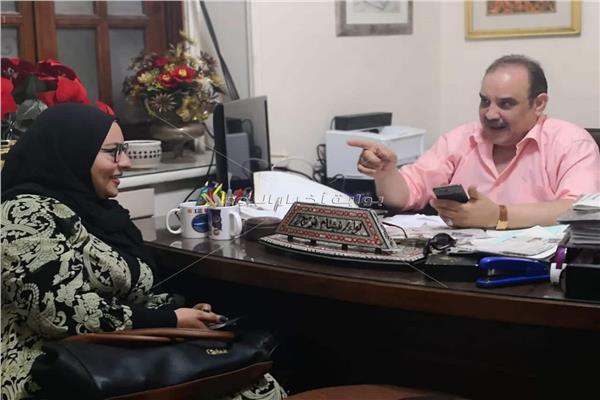 اللواء هشام فرج خلال حواره لـ«بوابة أخبار اليوم»
