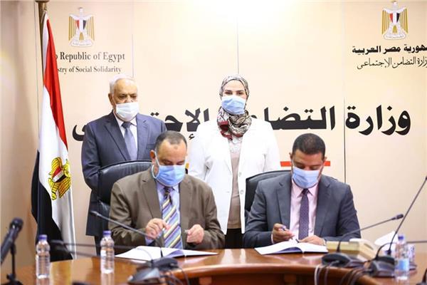 """""""القباج"""" و""""التراس """" يشهدان توقيع بروتوكول تعاون"""