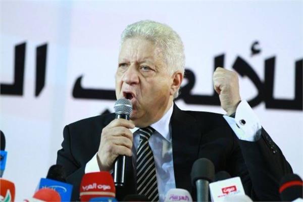 المستشار مرتضى منصور