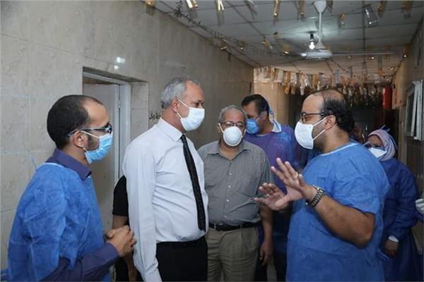 مديرية الصحة بقنا برئاسة الدكتور راجي تواضروس