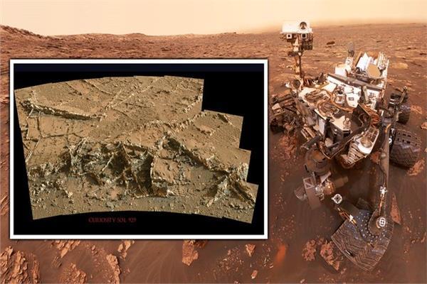 اكتشاف أنقاض مبان غريبة على المريخ