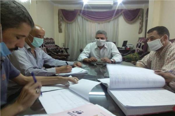 لجنة الموارد البشريةبمديرية التضامن الاجتماعى بمحافظة المنوفية