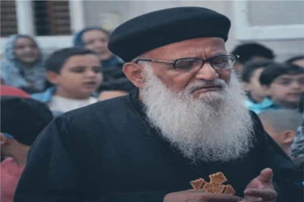 راعي كنيسة ماريو حنا الحبيب بنجع حمادي