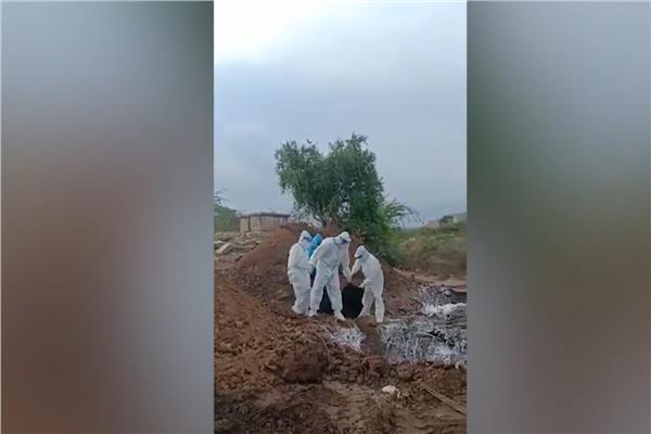 صورة من الفيديو المتداول بالهند
