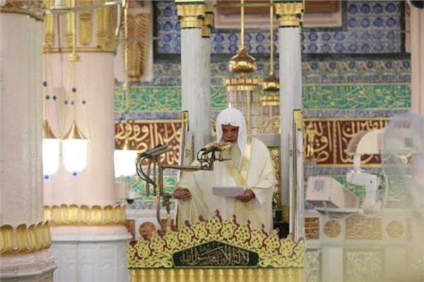 الشيخ الدكتور علي بن عبدالرحمن الحذيفي