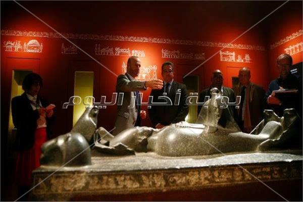 محطته الرابعة بأمريكا.. حكاية معرض «المدن الغارقة: عالم مصر الساحر» بمتحف فيرجينيا
