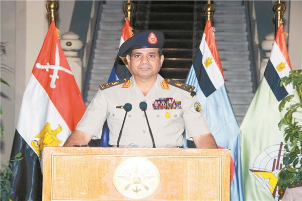 قرار  ٣ يوليو جسر عبرت عليه الأمة المصرية إلى المستقبل والدولة الحديثة