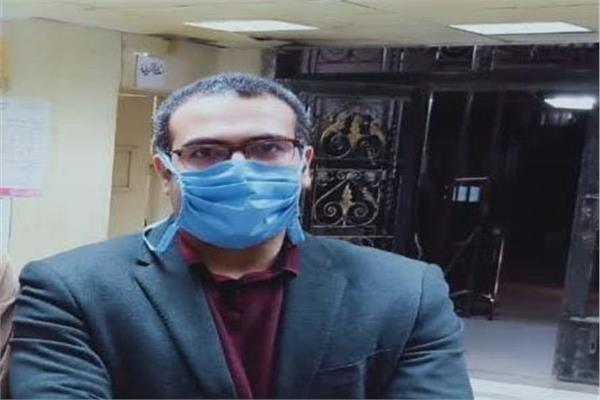 احمد سعيد مدير مستشفى الطوارئ