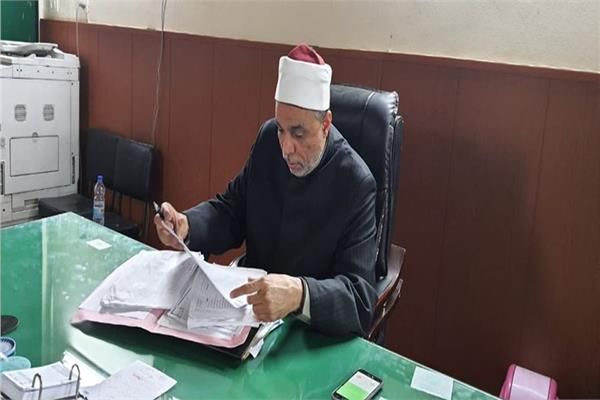 الشيخ جابر طايع، رئيس القطاع الديني بوزارة الأوقاف