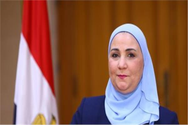 الدكتورة نيفين القباج، وزيرة التضامن الاجتماعى