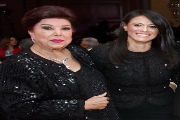 وزيرة التعاون الدولي والفنانة الراحلة رجاء الجداوي