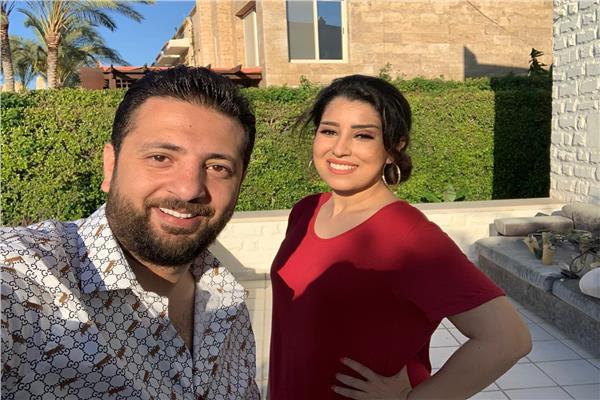 آيتن عامر وأحمد الهواري