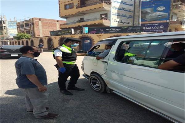 ضبط٣٣ من سائقي سيارات الأجرة