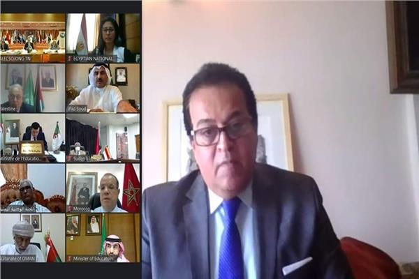 وزير التعليم العالي يلقى كلمة مصر أمام الدورة العادية (25) للمؤتمر العام لمنظمة (الألكسو)