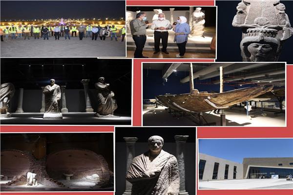 السياحة : لافتات عن متحف شرم الشيخ الأثري بشوارع المدينة.. للافتتاح الوشيك