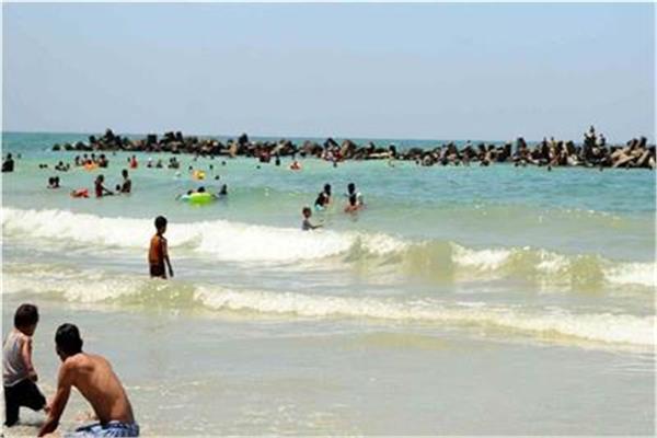 شاطئ النخيل بالإسكندرية