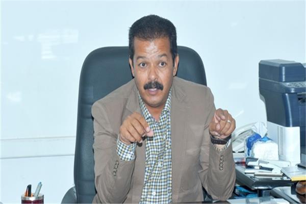 جمال رشاد رئيس الإدارة المركزية للشواطئ والمصايف
