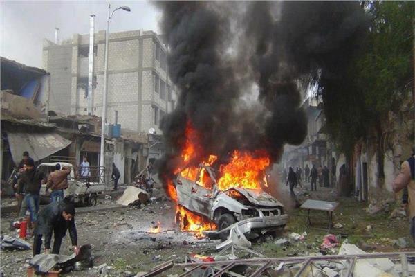 انفجار سيارة مفخخة في ريف حلب