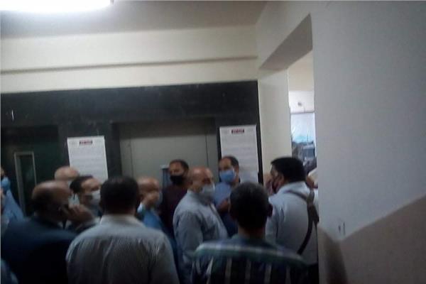 لجنة تلقى طلبات الترشح أبوابها أمام راغبى الترشح لمجلس الشيوخ