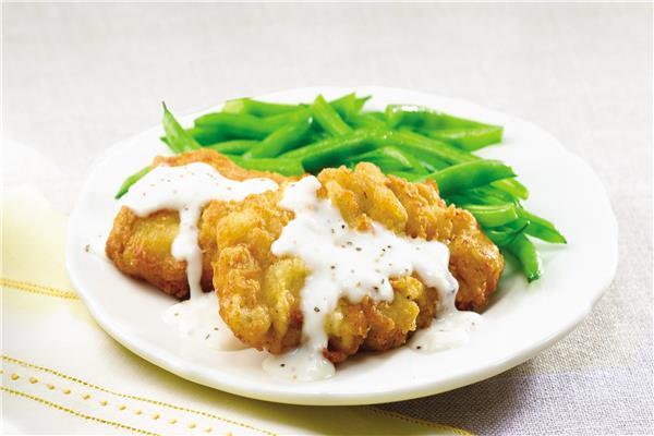 طبق اليوم .. «ستيك الدجاج المقلي»