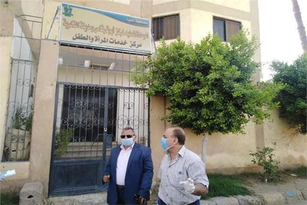 رئيس مدينة ابوقرقاص يتابع الخدمة الطبية بالمركز الطبى الشرقى