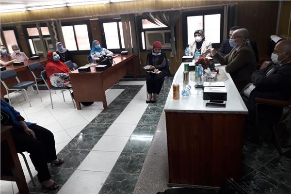 صحة الغربيه تستقبل أمين عام الزماله المصرية لتطوير تدريب الاطباء