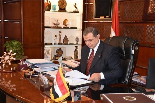 وزير القوى العاملة محمد سعفانوزير القوى العاملة محمد سعفان