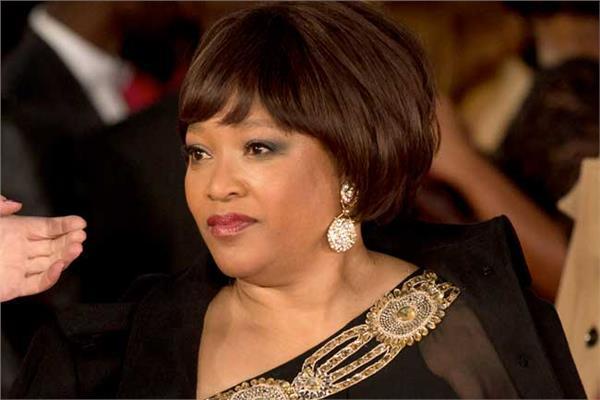 زيندزي مانديلا ابنة الرئيس الراحل نيلسون