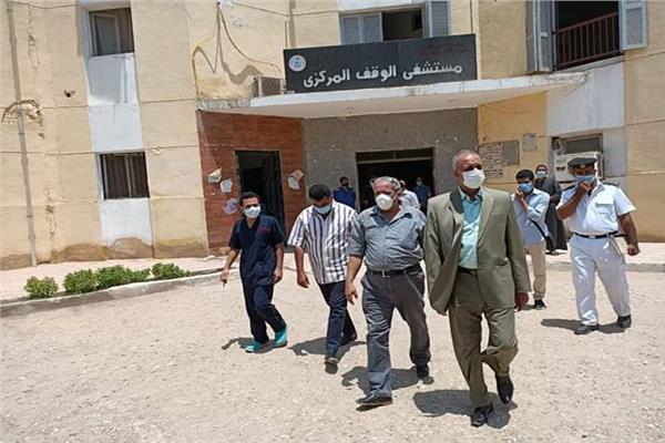 تعافى وخروج 149 حالة من مصابي فيروس كورونا المستجد من مستشفى الوقف المركزى